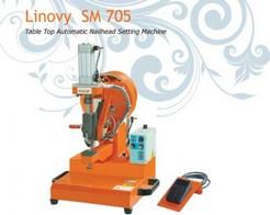 Nailheads setting machine for textile LINOVY SM705